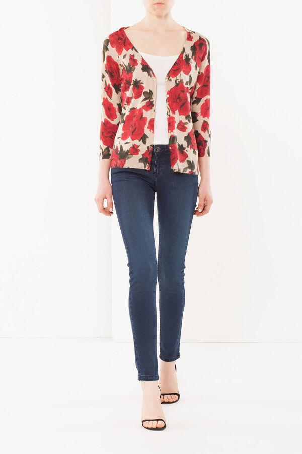 Floral print cardigan | OVS