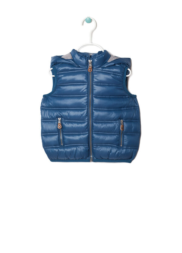 Padded waistcoat with zip | OVS