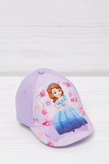 Printed cotton baseball cap, Lilac, hi-res
