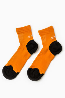 Active Sport Training stretch socks, Orange, hi-res