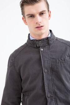 Rumford 100% cotton jacket, Grey, hi-res