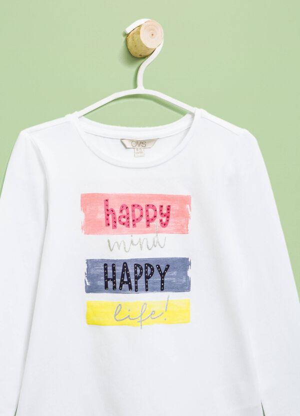 Camiseta con bajo redondeado | OVS