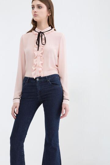 Stretch boot cut jeans, Blue, hi-res