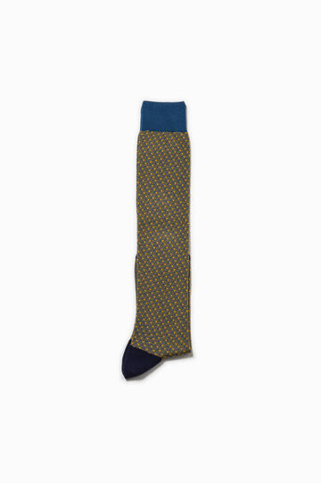 Rumford long patterned socks with lurex