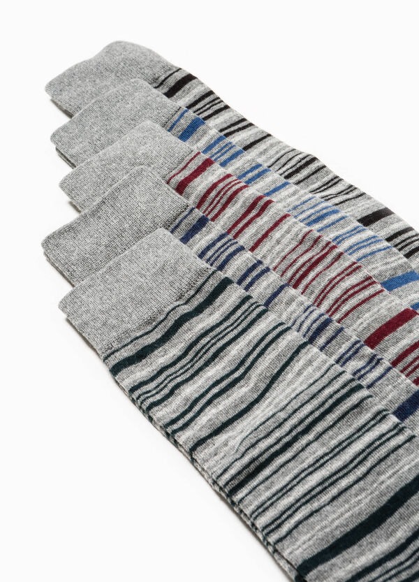 Pack de 5 pares de calcetines de rayas | OVS