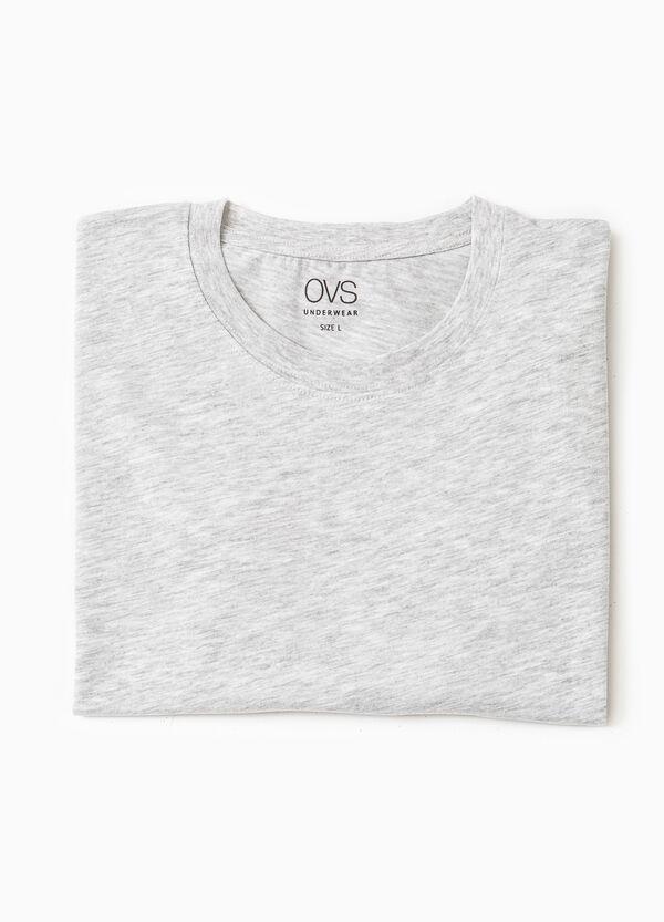 Cotton undershirt with crew neck | OVS