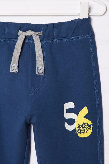 Pantaloni tuta cotone con stampa