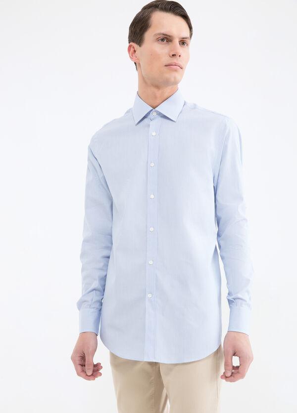 Camicia cotone fantasia a righe | OVS