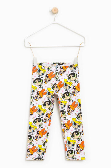 The Powerpuff Girls patterned leggings