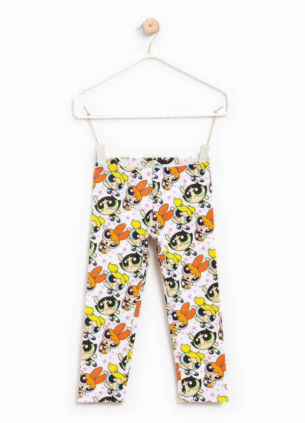 The Powerpuff Girls patterned leggings | OVS