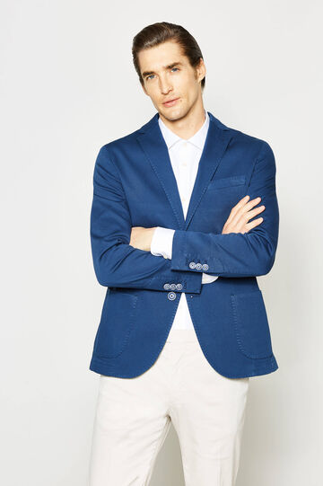 Rumford jacket with raised weave