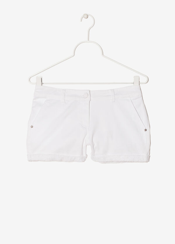 Stretch sequinned shorts | OVS