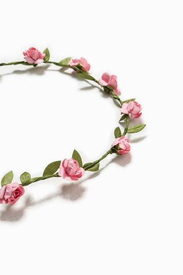 Floral hair tiara