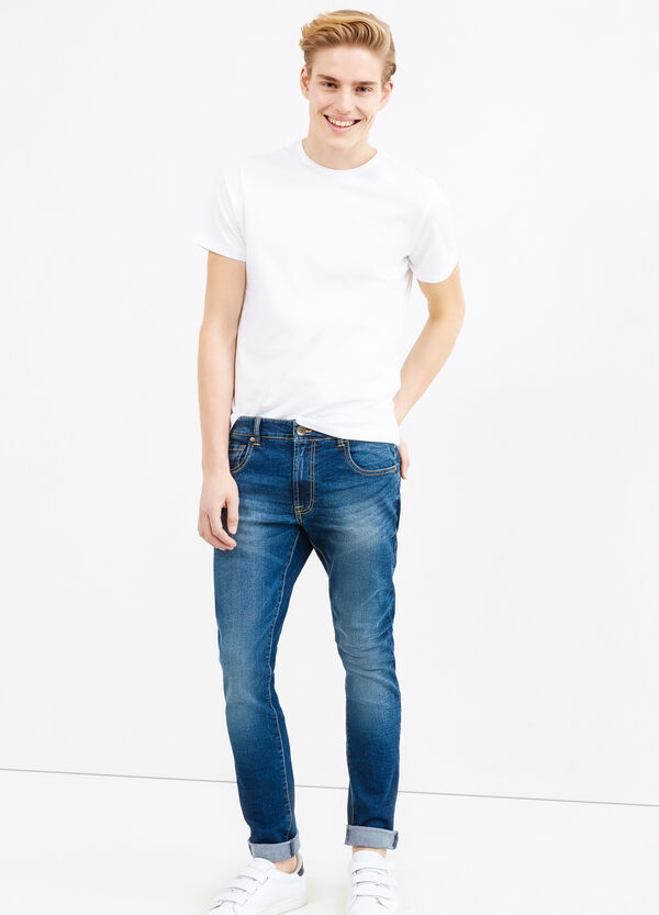 Jeans loose fit stretch effetto used | OVS