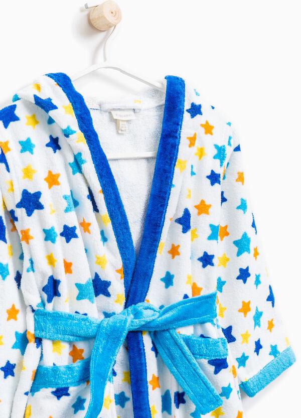 Albornoz de algodón con estrellas | OVS