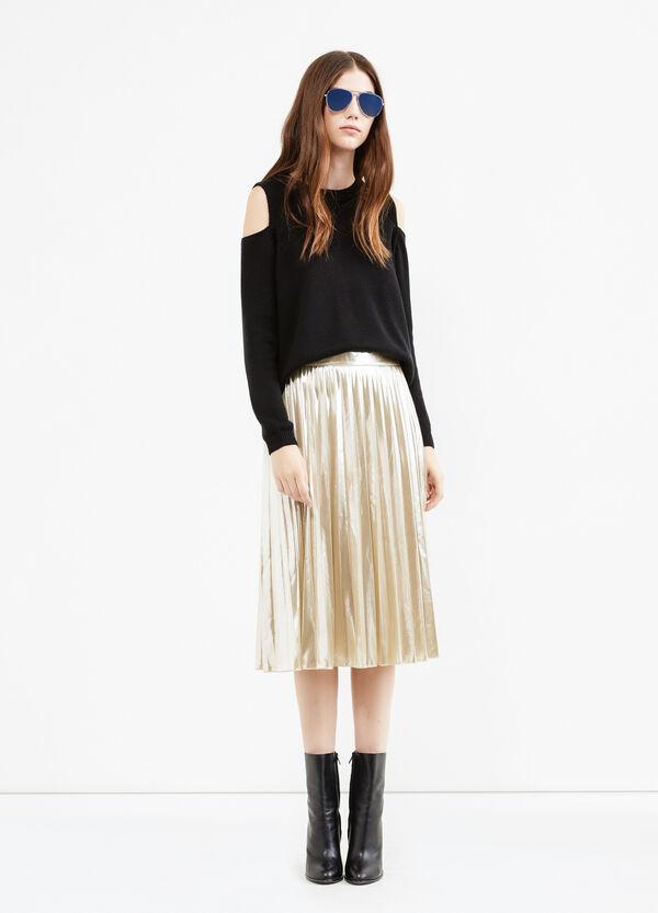 High-waisted midi skirt   OVS