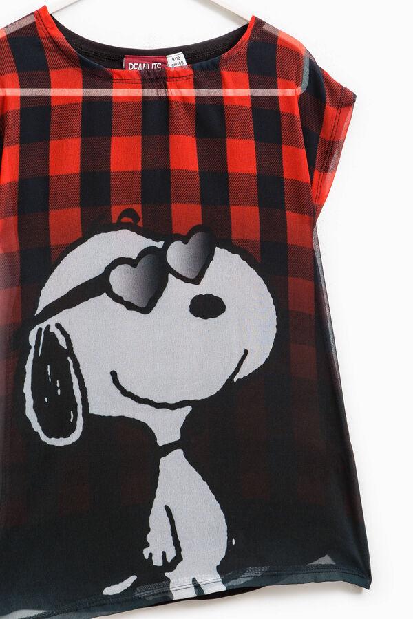 T-shirt semitrasparente Snoopy | OVS