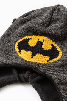 Cappello a cuffia ricami Batman, Nero, hi-res