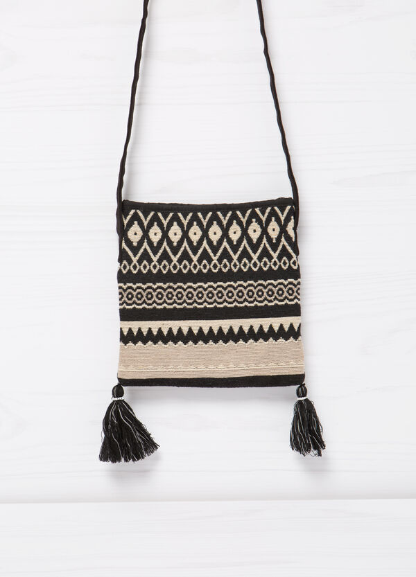Shoulder bag with tassels   OVS