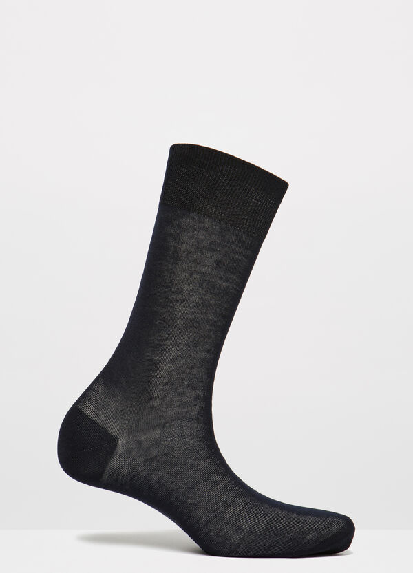 Solid colour cotton short socks | OVS
