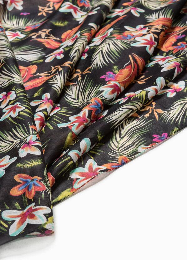 Sarong with floral print | OVS