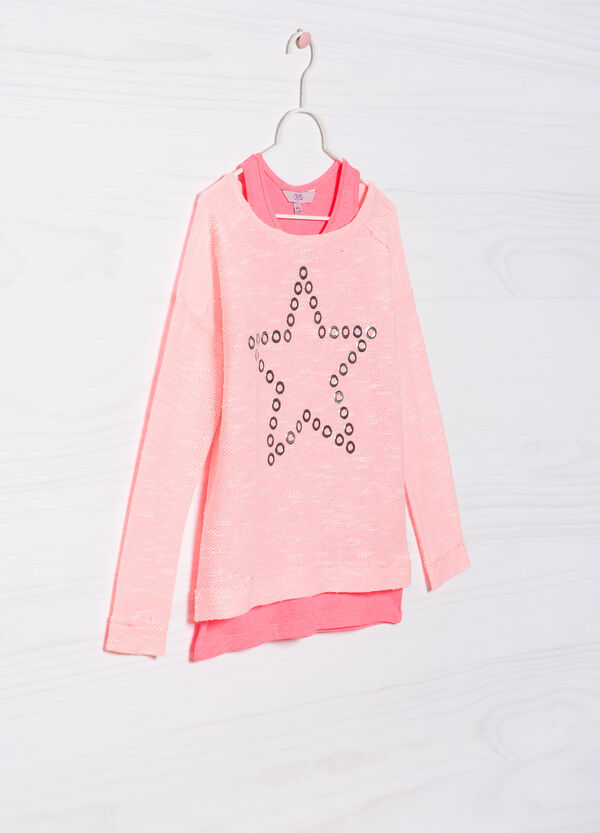 Completo pullover e top cotone | OVS