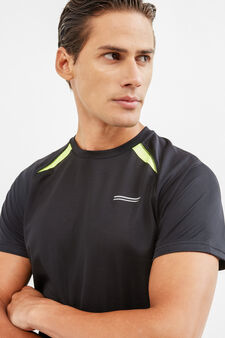 OVS Active Sport Training T-shirt, Black, hi-res