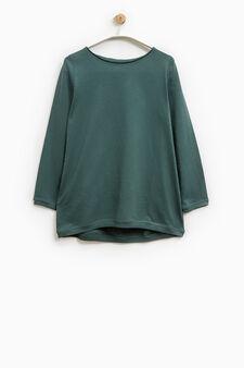 Smart Basic long-sleeved T-shirt, Green, hi-res