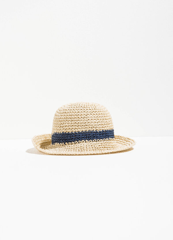 Wide-brimmed hat with insert | OVS