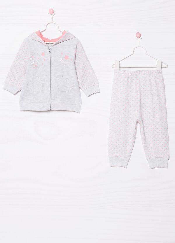 100% cotton pyjamas with hood | OVS
