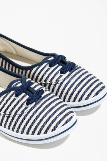 Striped pattern sneakers