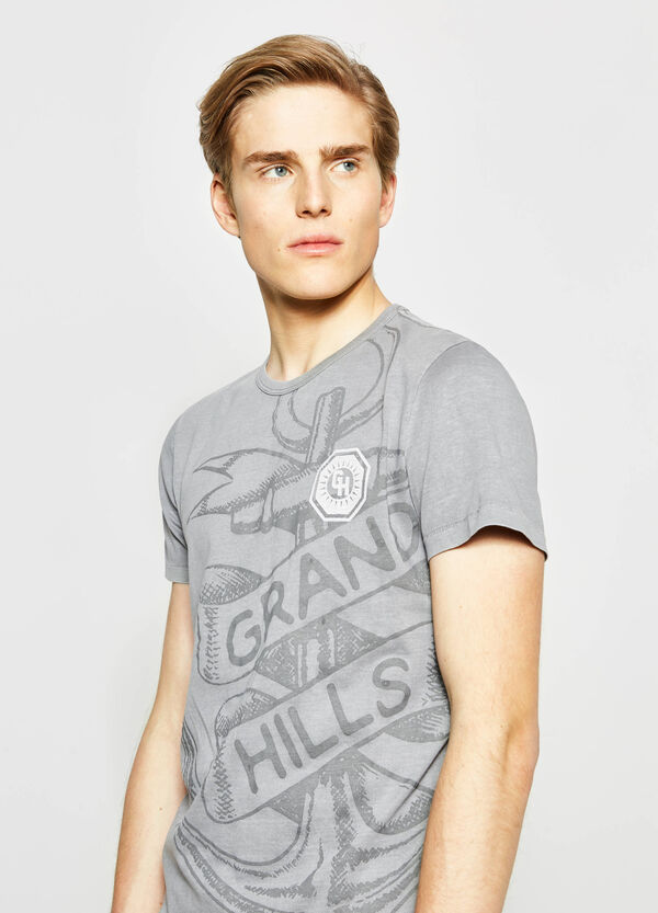 T-shirt in cotone stampata G&H | OVS