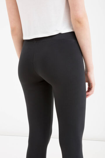 Stretch leggings by Maui and Sons, Black, hi-res