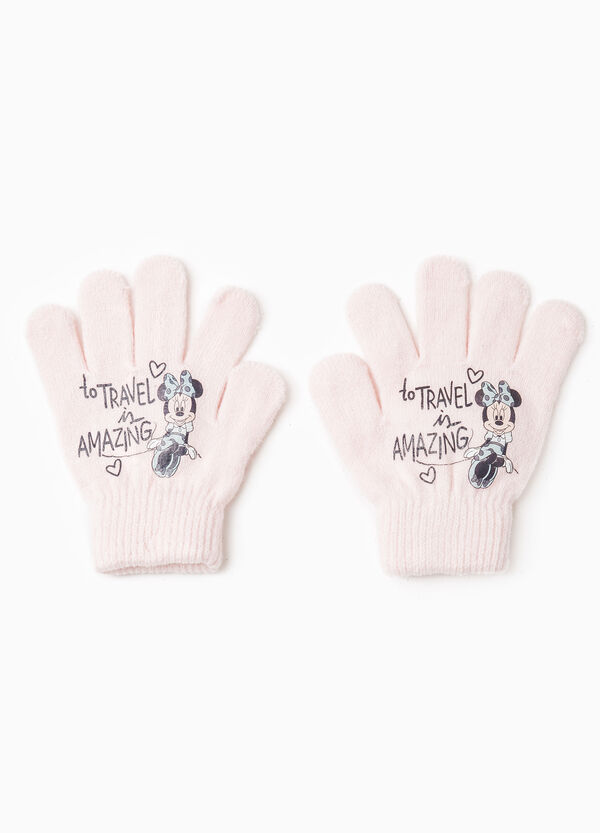 Gloves with Minnie Mouse print | OVS