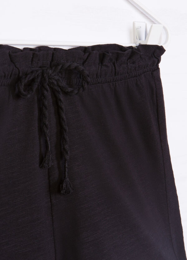 Shorts puro cotone con ricamo | OVS