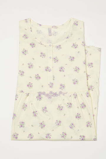 Curvy patterned nightshirt, Multicolour, hi-res
