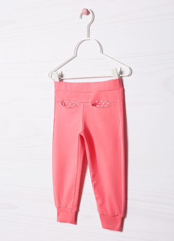 Pantaloni tuta cotone stretch   OVS