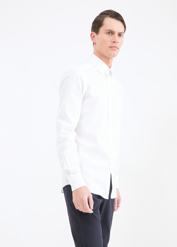 Slim fit shirt in 100% cotton | OVS