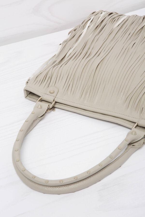 Shoulder bag with fringe | OVS