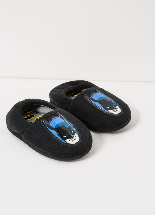 Slippers with Batman patch | OVS