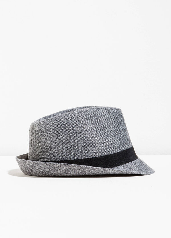 Wide-brimmed hat with band | OVS