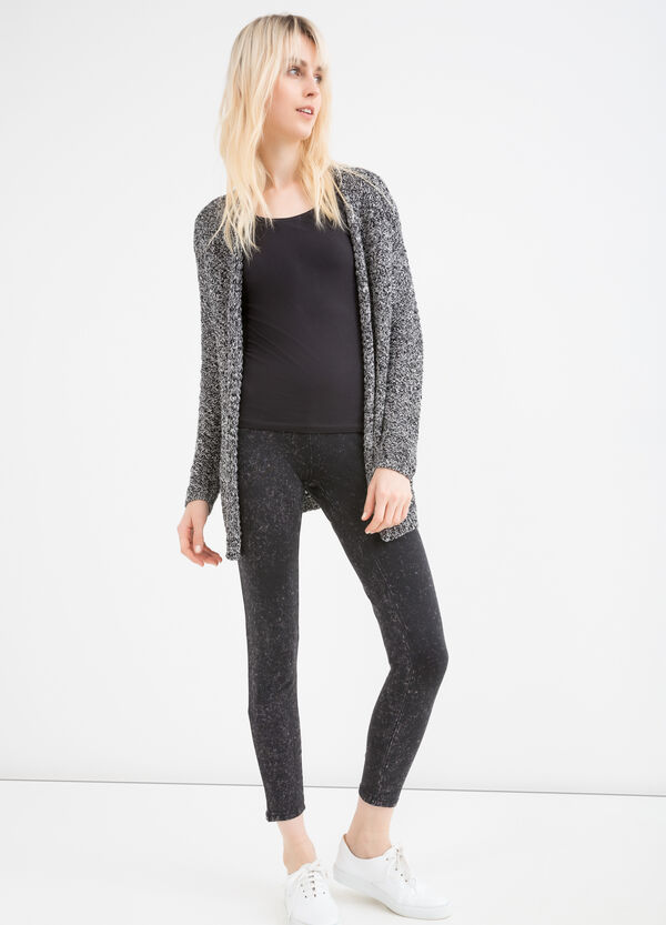 Leggings cotone stretch maltinti | OVS