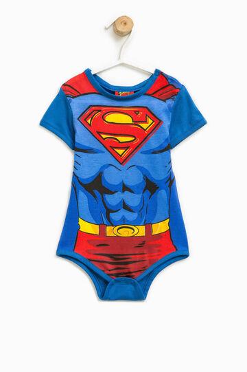 Maxi Superman print bodysuit