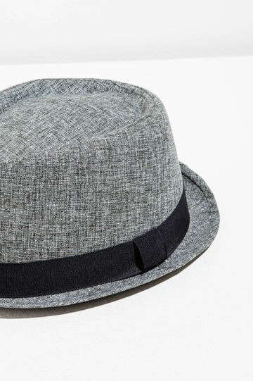 Sombrero jaspeado con ala ancha