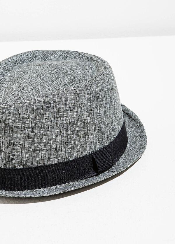Cappello a falda larga mélange | OVS