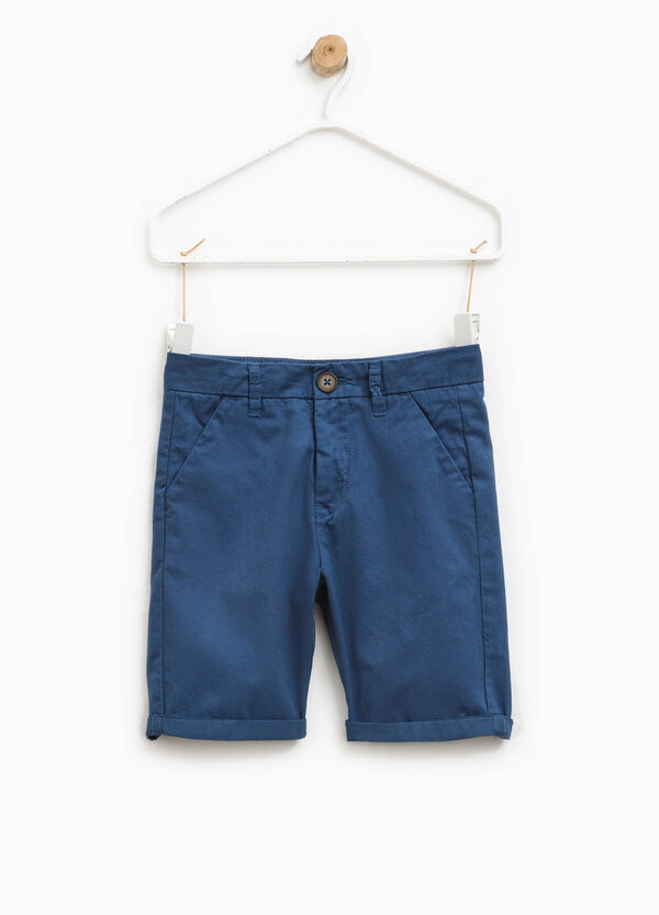 100% cotton Bermuda shorts | OVS