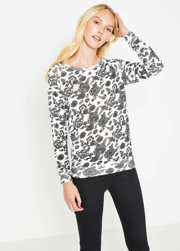 T-shirt puro cotone fantasia floreale | OVS