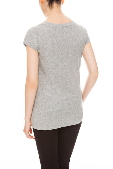 T-shirt con stampa, Grey, hi-res