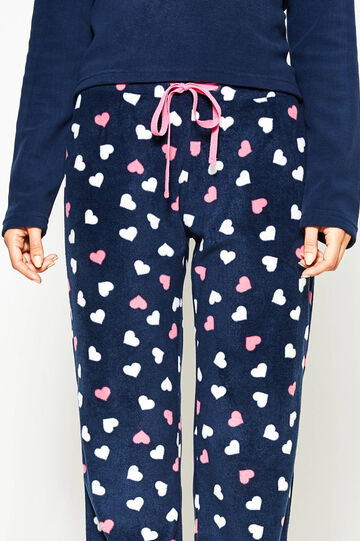 Pyjama trousers with all-over print