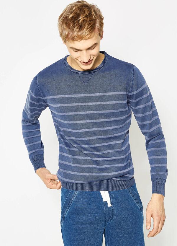 Jersey de rayas de algodón | OVS